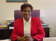Forsyth County Public Library Director Sylvia Sprinkle-Hamlin
